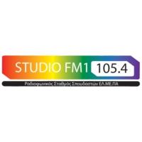 Logo of radio station Studio Fm1 105.4