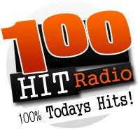 Logo of radio station 100 HIT radio