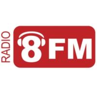 Logo of radio station Radio 8FM Tilburg