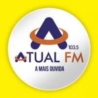 Logo of radio station Atual FM