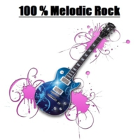 Logo of radio station 100% Melodic Rock