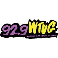 Logo of radio station WTUG 92.9 FM