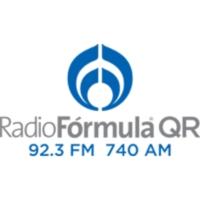 Logo de la radio XHCAQ Radio Fórmula QR