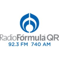 Logo of radio station XHCAQ Radio Fórmula QR
