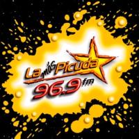 Logo de la radio XHNS La Más Picuda 96.3 FM