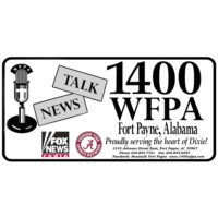 Logo de la radio News Talk 1400 WFPA