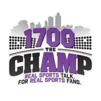 Logo de la radio KBGG 1700 The Champ