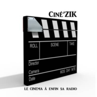 Logo of radio station Ciné'ZIK