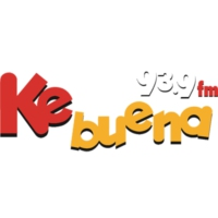 Logo of radio station XHEVZ Ke Buena 93.9 FM