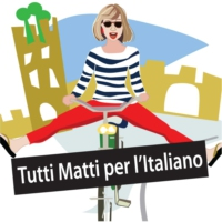 Logo of the podcast Italian Chat with Melissa