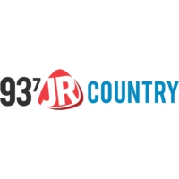 Logo of radio station CJJR 93.7 JR Country