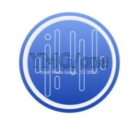 Logo of radio station YMG/one