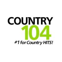 Logo of radio station CKDK-FM Country 104