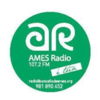 Logo of radio station Ames Radio 107.2