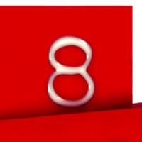 Logo de la radio Super 8, la radio