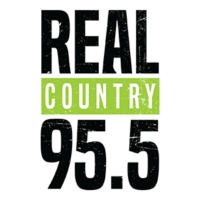 Logo of radio station CKGY-FM Real Country 95.5