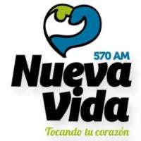 Logo de la radio XEBJB Nueva Vida 570 AM