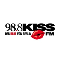 Logo de la radio 98.8 KISSFM #new beats