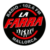 Logo of radio station La Farra Radio