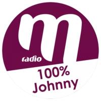 Logo de la radio M Radio - 100% Johnny