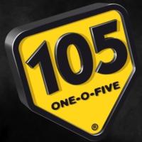 Logo of radio station my105 Original