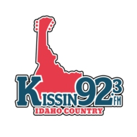 Logo of radio station KIZN Kissin 92.3