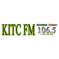 Logo of radio station KITC 106.5 FM