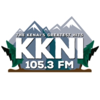 Logo of radio station KKNI 105.3FM