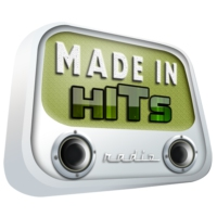 Logo of radio station 100% Made in Hits