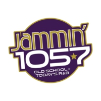 Logo of radio station KOAS Jammin' 105.7