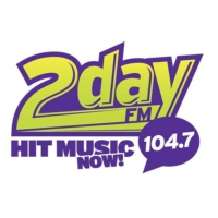 Logo of radio station CFRI 104.7 2day FM