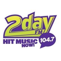 Logo de la radio CFRI 104.7 2day FM