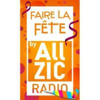 Logo of radio station Allzic Radio Fête