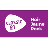 Logo of radio station Classic 21 - Noir Jaune Rock (RTBF)