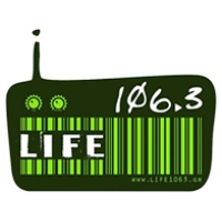 Logo of radio station Life 106.3 FM