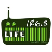 Logo de la radio Life 106.3 FM