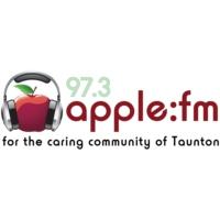 Logo of radio station 97.3 Apple FM