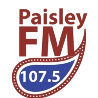 Logo of radio station Paisley FM 107.5