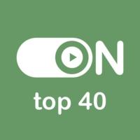 """Logo de la radio """"ON Top 40"""""""