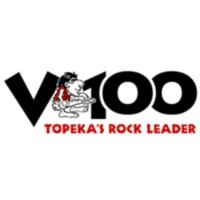 Logo of radio station KDVV V100