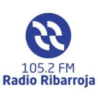 Logo of radio station Ràdio Riba-roja 105.2