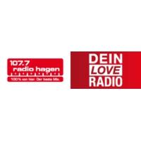 Logo de la radio 107.7 Radio Hagen - Dein Love Radio