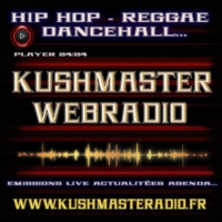 Logo of radio station KUSHMASTERADIO REGGAE ROOTS RADIO