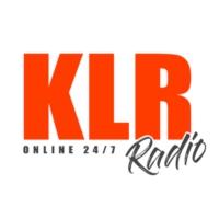Logo of radio station KLR Radio
