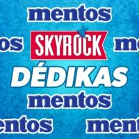 Logo de la radio Skyrock Dédikas avec Mentos