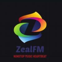 Logo of radio station Zealfm
