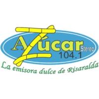 Logo de la radio Azúcar Estéreo 104.1 FM