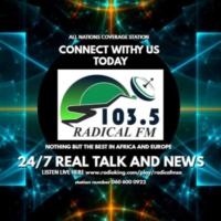 Logo of radio station RADICAL FM SA