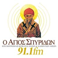 Logo de la radio Αγιος Σπυρίδων 91,1