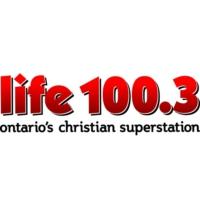 Logo of radio station CJLF-FM LIFE 100.3